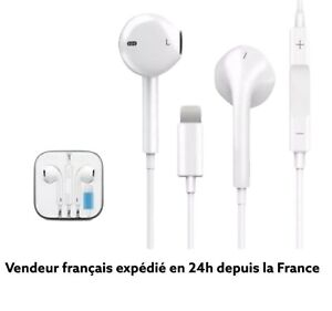 Ecouteur iPhone  Kit Pieton  Lightning iPhone 7/8/SE2020/X/XR/12