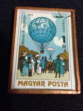 Unique Magnet Magyar Posta Stamp Balloons 1811