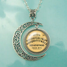 Ouija Boards necklace Ouija jewelry Moon pendant William Fuld Ouija necklace