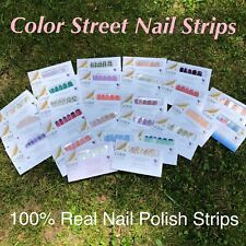 Color Street Nail Strips ~ 100% Nail Polish Strips ~ New in the Package!!