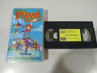 Pippi Calzaslargas Animacion la pelicula - VHS Cinta Castellano - 2T
