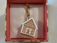 Juicy Couture Gingerbread House Charm - New in Box