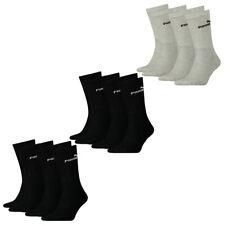PUMA Herren Damen Unisex Crew Socken Sport 35-38 39-42 43-46 Tennissocken Basic