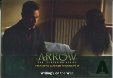 Arrow Season 2 Green Foil Parallel Base Card #31 Writing?s on the Wall