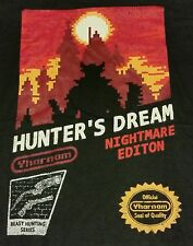 """Hunter's Dream"" Blood Souls NES Classic Mashup Women's XL Shirt Theyetee"