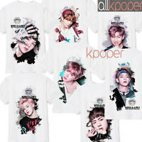 KPOP BTS T-shirt Bangtan Boys Wings Tshirt Suga Jimin Tee Tops Jung Kook V JIN