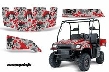 AMR Racing Polaris Ranger 500/700 UTV Graphic Kit Wrap Decal Part 04-08 CAMO RED