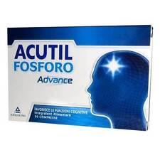 ACUTIL Fosforo Advance Integratore Alimentare Funzioni Cognitive 50 Compresse