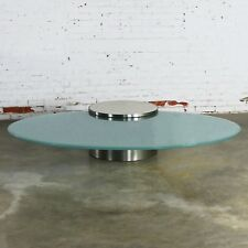 Hoop Cantilevered Low Cocktail Table by J. Wade Beam for Brueton