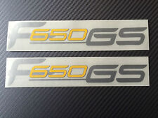 BMW F650 GS Aufkleber Aufkleber Graphic Kit Silber/gelb  / BMW F650GS Aufkleber