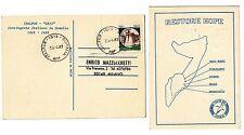 CARTOLINA UFFFICIALE  ITALFOR IBIS  MISSIONE SOMALIA X MILANO 1993 AFFR CASTELLO