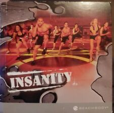 Insanity Total Body Workout Program Beachbody 10 Disc DVD Set