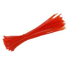 New 100pcs Black White Network Nylon Plastic Cable Wire Zip Tie Cord Straps 3mm