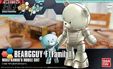 Bearguy Family HGBF Gundam Build Fighters Try 1/144 Model Figure Bandai