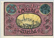 Notgeld - Stadt Weida - 25 Pfennig 1921