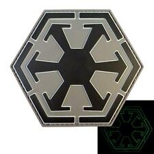 star wars sith empire logo old republic PVC glow dark ACU rubber hook patch