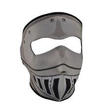 Grey Knight Armor Look Neoprene Full Face Mask Zan Headgear Cosplay Costume