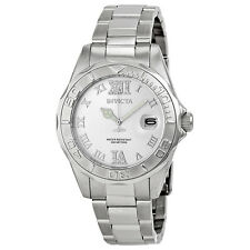 Invicta Pro Diver Silver Dial Stainless Steel Ladies Watch 12851