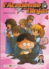 L'ACADEMIE DES NINJAS tome 4 Hosono Fujihiko MANGA shonen