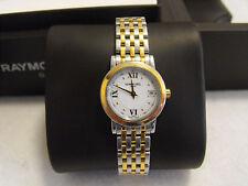 Original Raymond Weil Toccata Ladies Swiss Quartz Two Tone Date Watch 5393