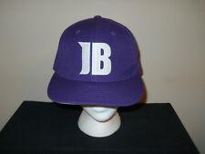Justin Bieber concert fitted purple fits sz 7 1 4 - 7 3 8 a9c4e782c559