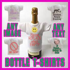 Mini Wine or Beer Bottle T shirt Great Christmas Gift !