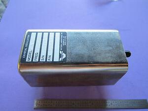 VECTRON QUARTZ CRYSTAL OSCILLATOR 5 MHz FREQUENCY CALIBRATOR STANDARD