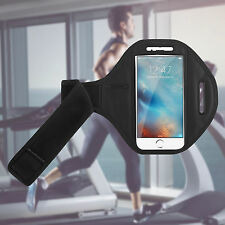 Gym Running Jogging Arm Band Sports Armband Case Holder Strap for Apple iPhones Apple iPhone 7 Black