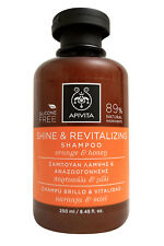 Apivita Shine & Revitalizing Shampoo with Orange & Honey 8.45 OZ