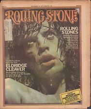 Rolling Stone September 11 1975 Rolling Stones, Elridge Cleaver w/ML 121616DBE
