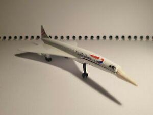 Corgi Diecast Concorde British Airways Model Plane 1:72 Scale