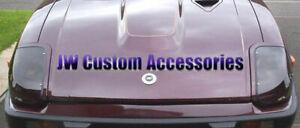 Fits 79-83 280ZX S130 Fairlady GTS Smoke Headlight Covers Aerodynamic GT0557S