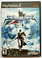 Soul Calibur III (Sony PlayStation 2, 2005) Game and Case Tested