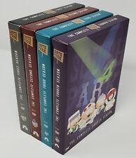 South Park Seasons 1-4 - 1 2 3 4 Dvd Lot - Special Bonus Features! 12 Discs!
