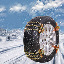 165-205mm Car SUV Tire Snow Wheel Anti-Skid Chain Ice Mud Emergency Driving 2pc