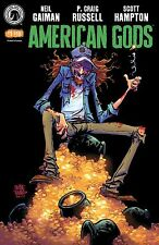2017 SDCC Dark Horse Exclusive ... American Gods Shadows #1 Comic In Hand