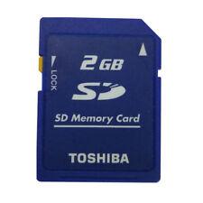 TOSHIBA 2gb Seguro Digital Sd Tarjeta de memoria Estándar CLASS4 sd-m02g Cámara
