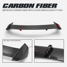 For Ford 19-20 Focus Mark 4 RS Type Rear Spoiler Wing Lip Carbon Fiber Wings