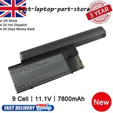 Extended 9 Cell 7800mAh Battery for Dell Latitude D620 D630 D631 D640 PC764 UK
