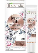 Bielenda Japan Lift Anti-Wrinkle Deeply Moisturising Eye Cream 15ml