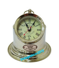 Nautical Vintage House hold Wall Clocks Maritime Boot sport Clock Brass