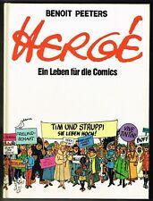 Hergé - Ein Leben für die Comics - Carlsen 1983 - 1. Auflage - Zustand 0-1