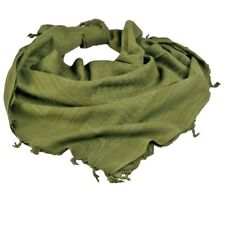 100%Algodón Grado Militar Shemagh Pañuelo Keffiyeh Sniper Veil Verde Oliva