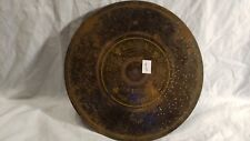 Antique Music Box Disc We Are Playing Soldiers 10 1/2 Inch Germany