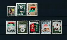 D097722 Biafra Nice selection of MNH stamps
