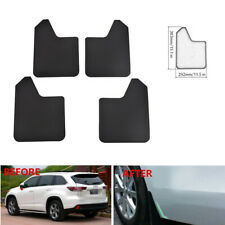 4xCar Front&Rear Fender Mud Flaps Mudguards Splash Guard Trim For SUV Pickup Van