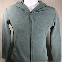 VTG PATAGONIA SYNCHILLA FULL ZIP HOODED FLEECE JACKET SZ S MADE IN USA WOMENS