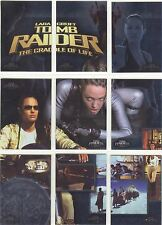 Tomb Raider The Cradle Of Life Complete CoL Puzzle Chase Card Set COL1-9