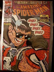 Marvel Comic The Amazing Spider-Man #339 Return of Sinister Six LARSEN Doc Ock