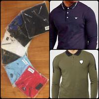 Emporio Armani Men's Polo Long Sleeves Shirt